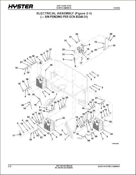 S65xm Hyster Hydraulic Diagram